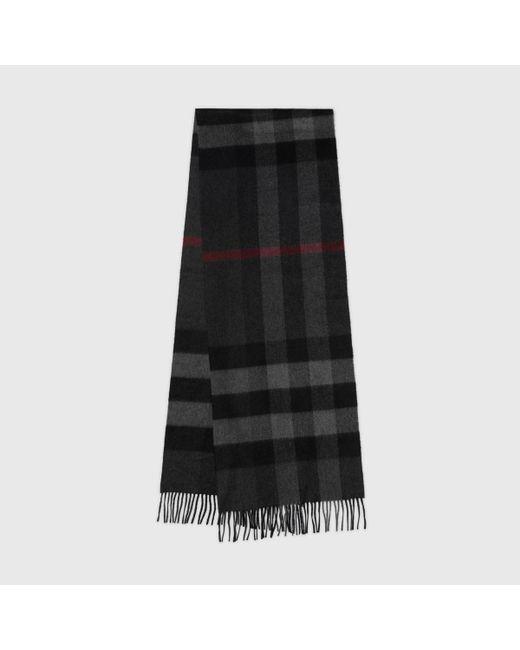 Burberry - Multicolor Grande écharpe classique en cachemire à motif check - Lyst