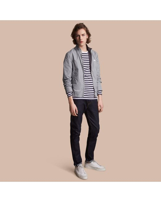 Burberry   Gray Lightweight Technical Jacket Grey for Men   Lyst