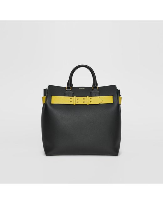 99cfd841957e Burberry - Black The Large Leather Belt Bag for Men - Lyst ...