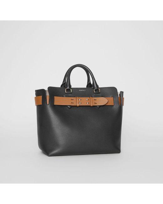 cd9b15c0b387 Burberry The Medium Leather Belt Bag in Black - Save 15% - Lyst