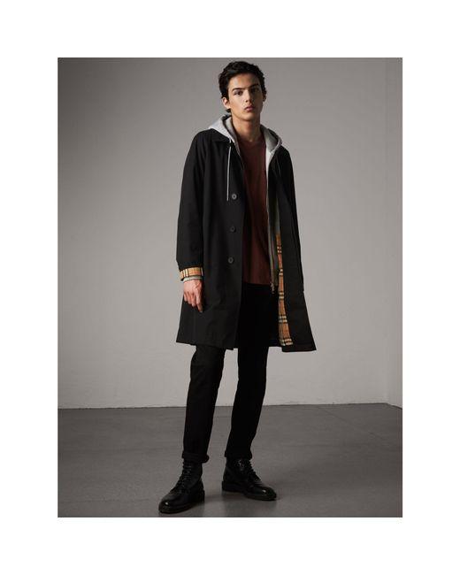 Burberry   The Camden – Long Car Coat In Black - Men   for Men   Lyst
