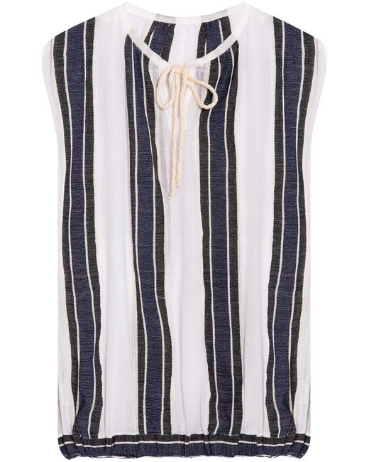 Lemlem   Multicolor Biftu Striped Blouse   Lyst