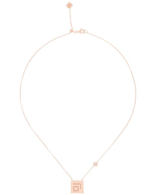 Shamsa Alabbar | Metallic Minimal Haa Necklace | Lyst