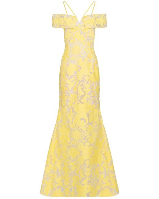 Roland Mouret   Yellow Denby Gown   Lyst