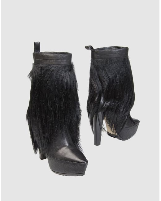 Alexander Wang | Black Ankle Boots | Lyst