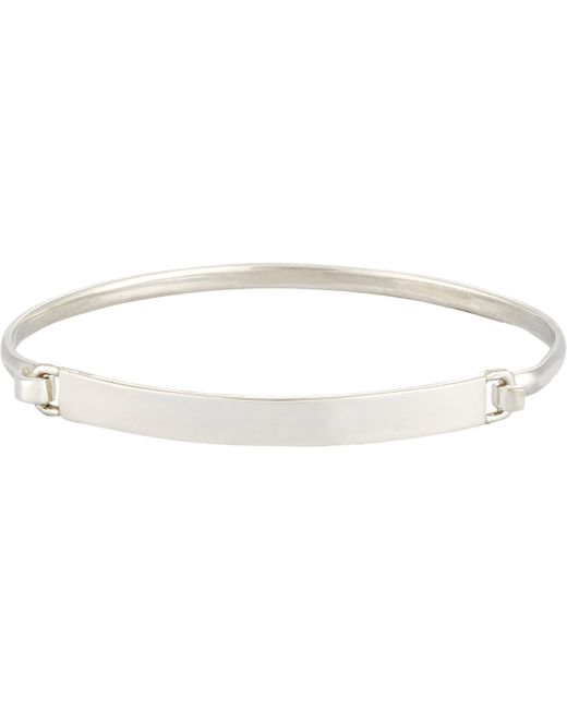 Loren Stewart | Metallic Id Bracelet for Men | Lyst