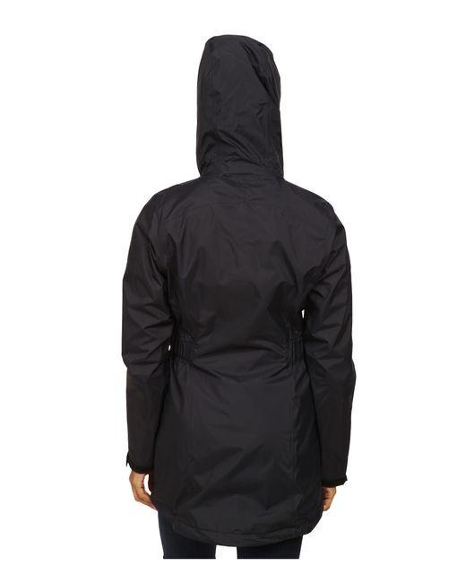 mountain hardwear finder� parka in black lyst