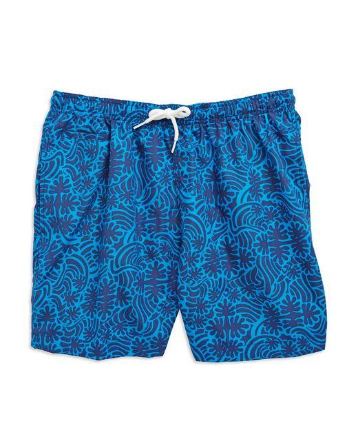 Trunks surf & swim Splash Swim Trunks in Blue for Men ...