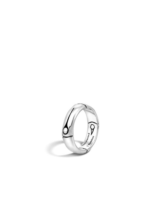 John Hardy | Metallic Band Ring | Lyst