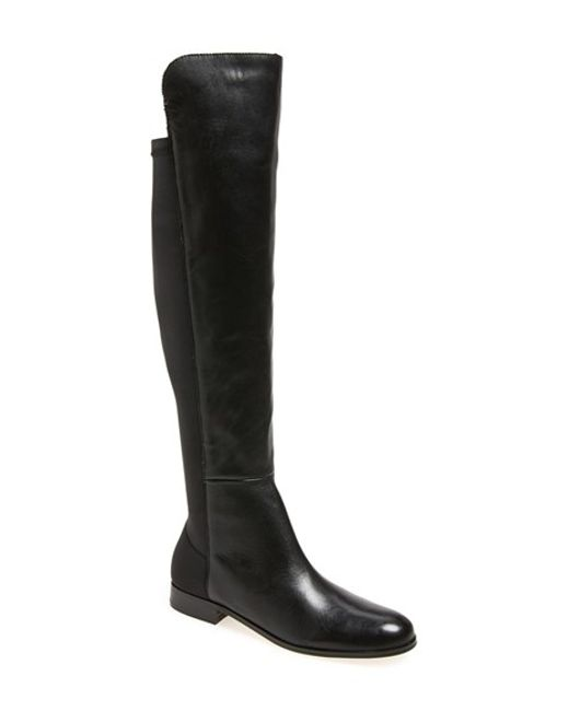 Corso Como | Black 'laura' Over The Knee Boot | Lyst