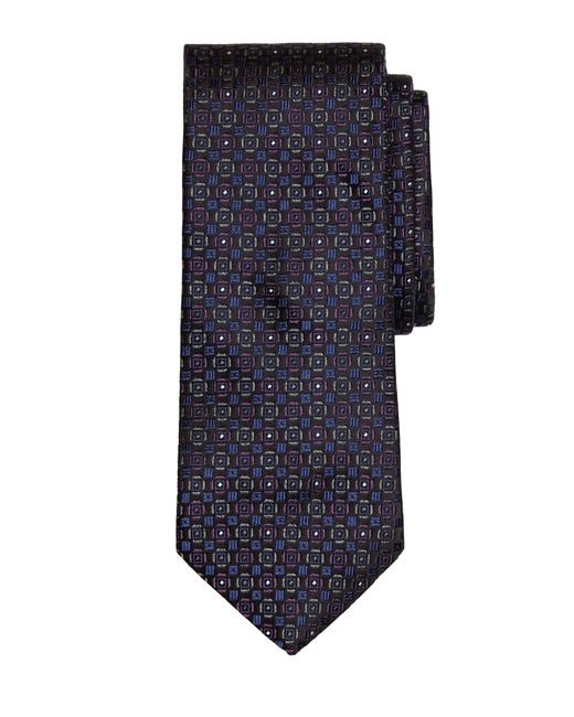 Brooks Brothers | Purple Medallion Tie for Men | Lyst