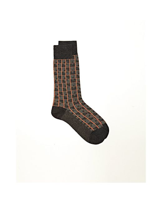 Vince Camuto | Multicolor Puzzle Grid Crew Socks | Lyst
