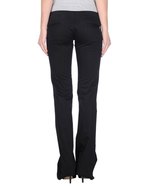DIESEL | Black Casual Pants | Lyst