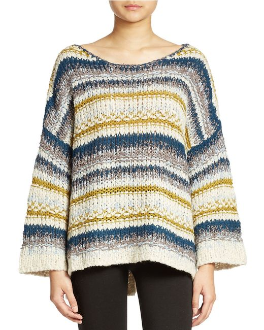 Free People | Multicolor Sailor Song Pullover | Lyst