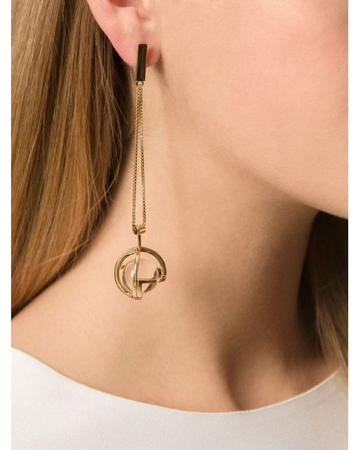 Lara Bohinc | Metallic 'planetaria' Earrings | Lyst