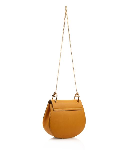 chloe handbags replica - Chlo�� Drew Small Leather Cross-Body Bag in Yellow | Lyst