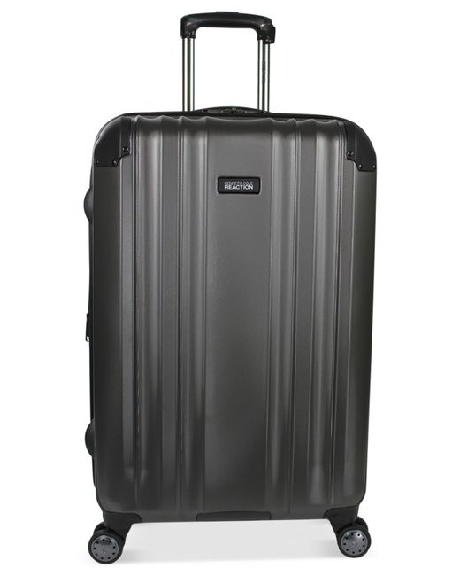 "Kenneth Cole Reaction | Gray Closeout! Carrara 25"" Hardside Spinner Suitcase, Only At Macy's for Men 