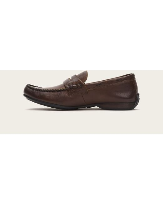 Frye | Brown Lewis Penny for Men | Lyst