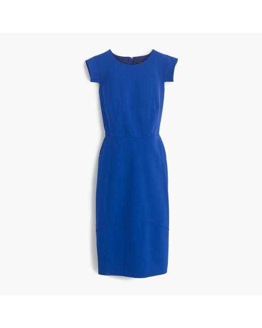J.Crew | Blue Résumé Dress | Lyst