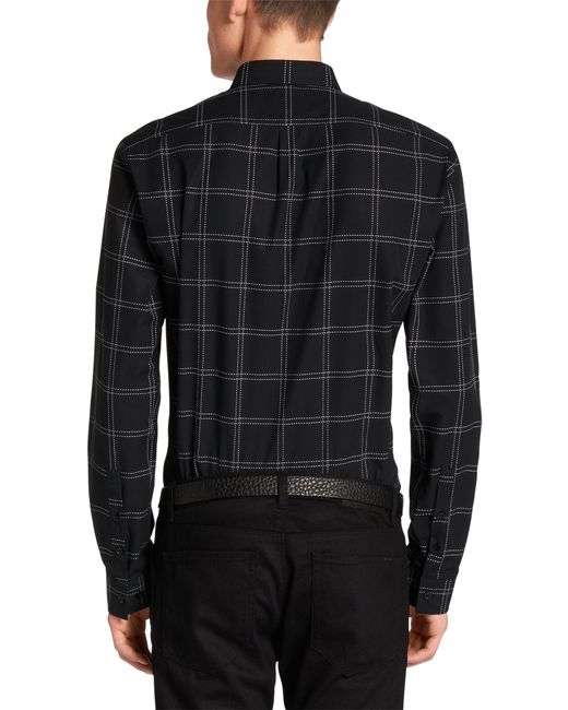 Hugo 39 Ero 39 Slim Fit Cotton Button Down Shirt In Black