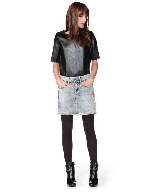 G-Star RAW | Gray Mini Skirt | Lyst