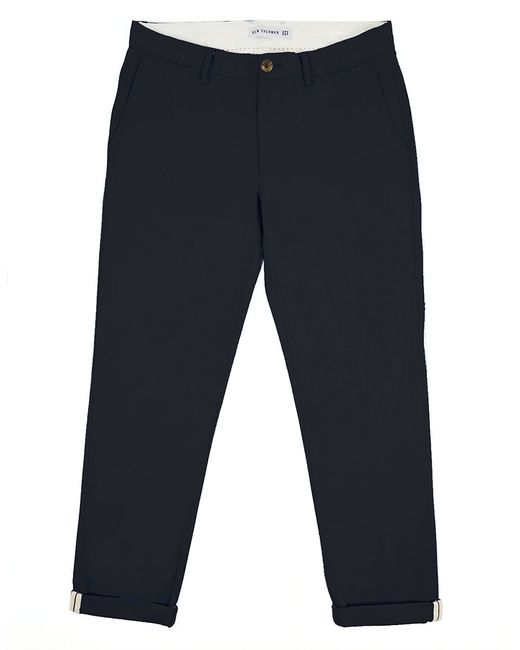 Ben Sherman | Blue Slim Stretch Cotton Chinos for Men | Lyst