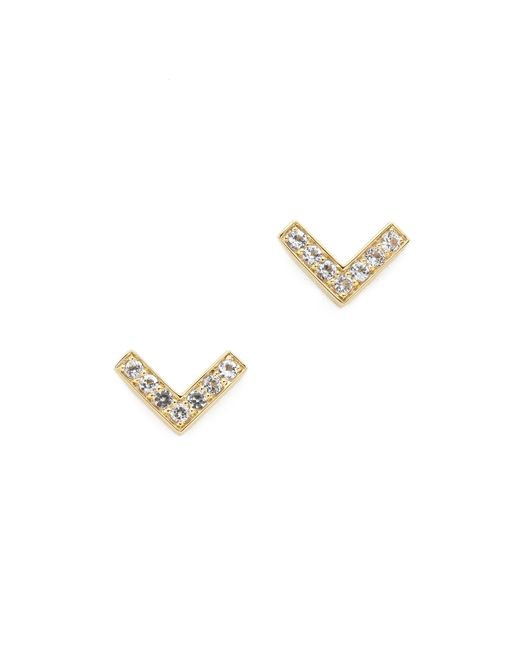 Elizabeth and James | Metallic Edo Stud Earrings | Lyst