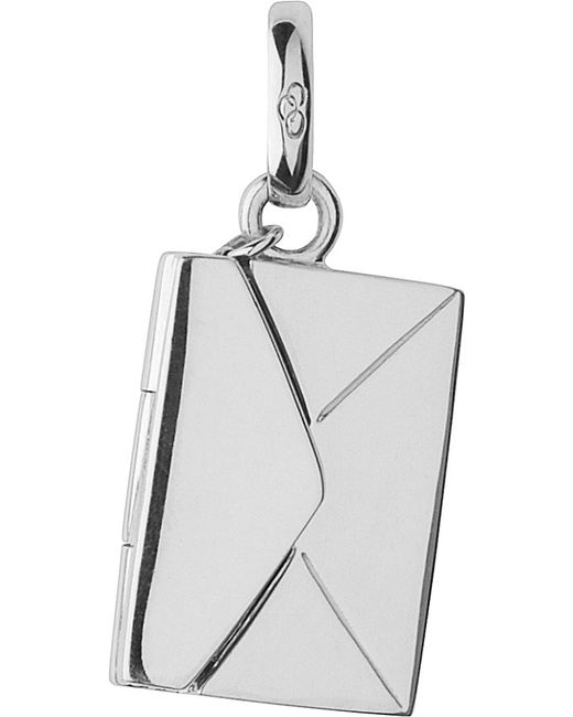 Links of London | Metallic Sealed With A Kiss Envelope Sterling Silver Charm | Lyst