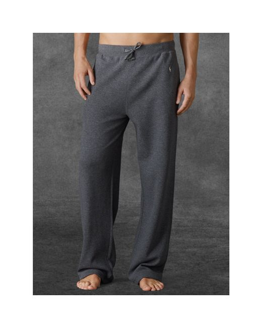 Polo Ralph Lauren | Gray Waffle-knit Pant for Men | Lyst