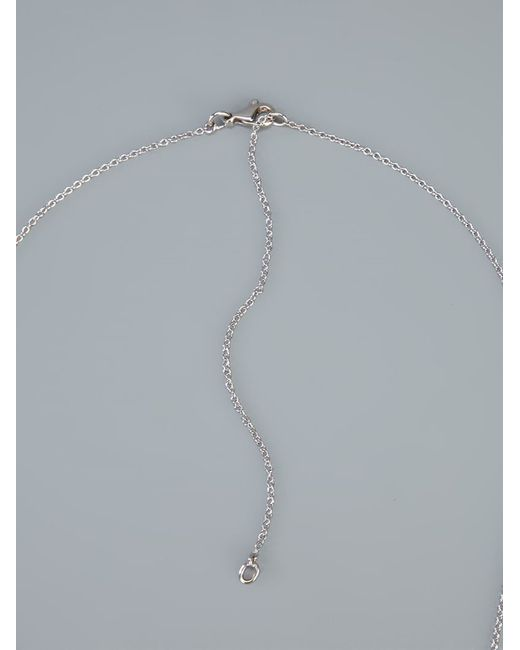 Gavello | Purple Skull Pendant Necklace | Lyst