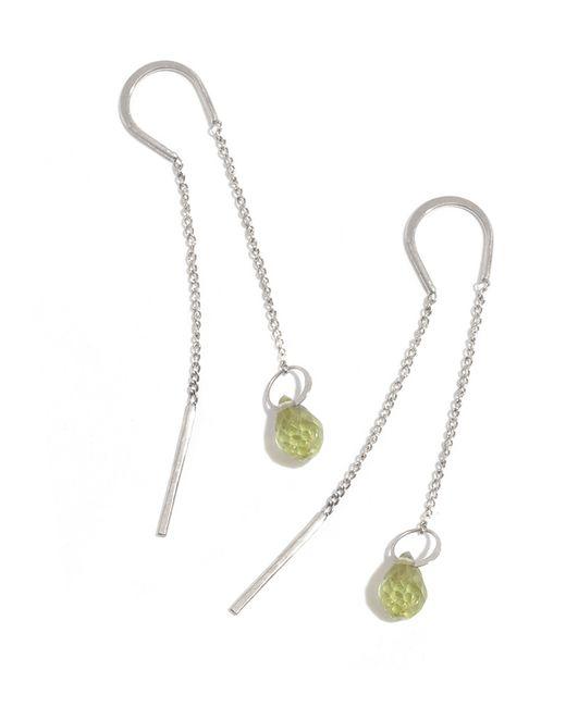 Melissa Joy Manning | Metallic Peridot Drop Horseshoe Chain Earrings | Lyst