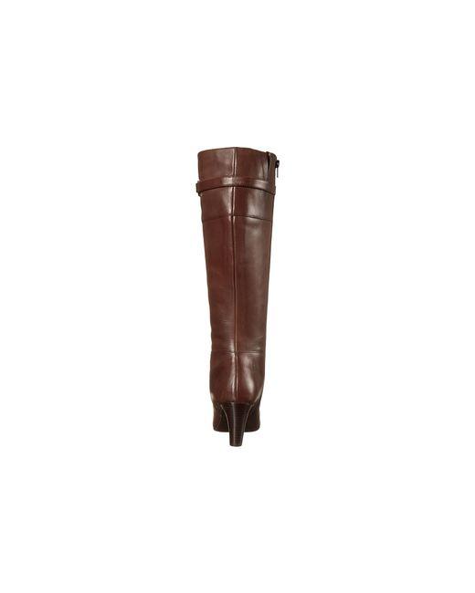 Lauren by Ralph Lauren   Brown Marsalis Tassel Leather Knee-high Riding Boots   Lyst