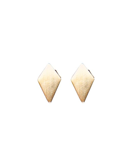 Dutch Basics | Metallic Ruit Stud Earrings | Lyst
