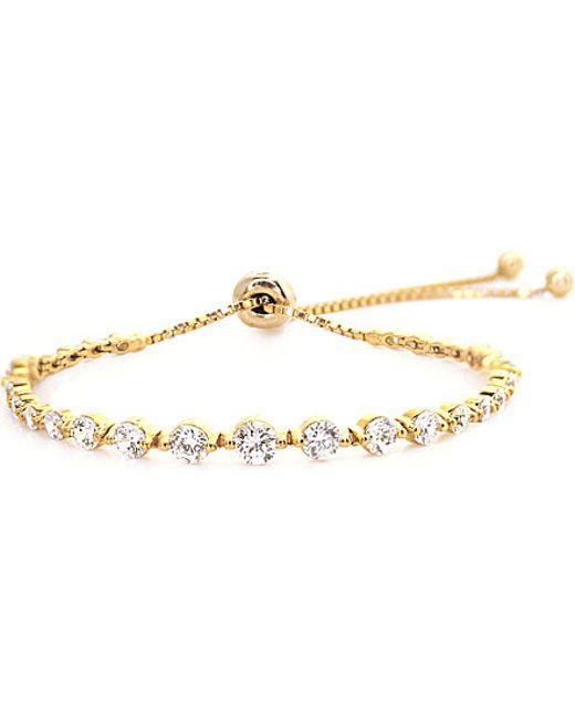 Carat* | Metallic Grace Gold-plated Millennium Bracelet | Lyst