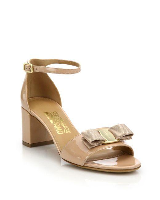 Salvatore Ferragamo Mens Patent Leather Shoes