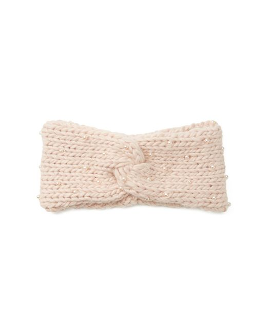 Forever 21   Pink Faux Pearl Headwrap   Lyst