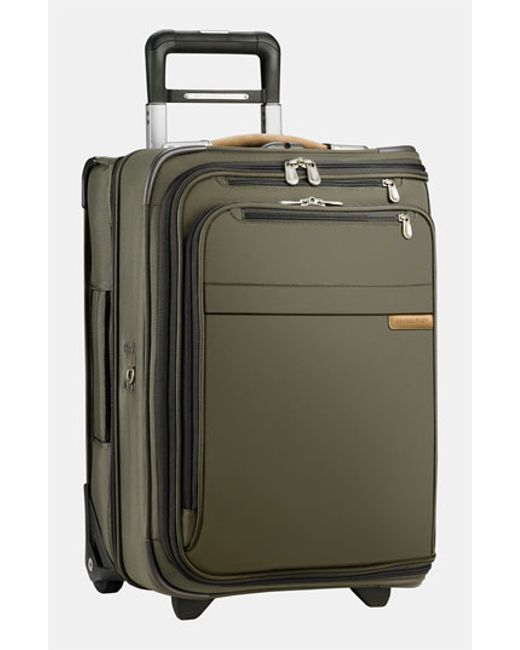 Briggs & Riley | Green 'baseline - Domestic' Rolling Carry-on Garment Bag for Men | Lyst