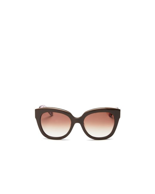 Kate Spade | Brown Amberly Cat Eye Sunglasses, 54mm | Lyst