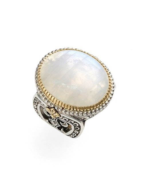Konstantino | Natural 'erato' Oval Stone Ring | Lyst