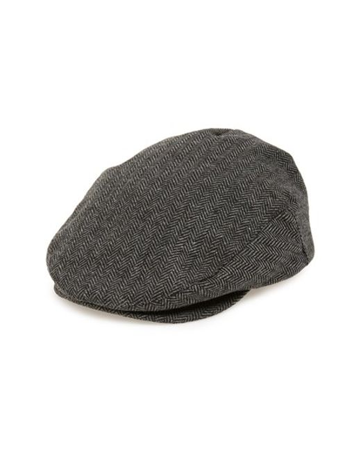 Brixton | Gray 'hooligan' Driving Cap for Men | Lyst