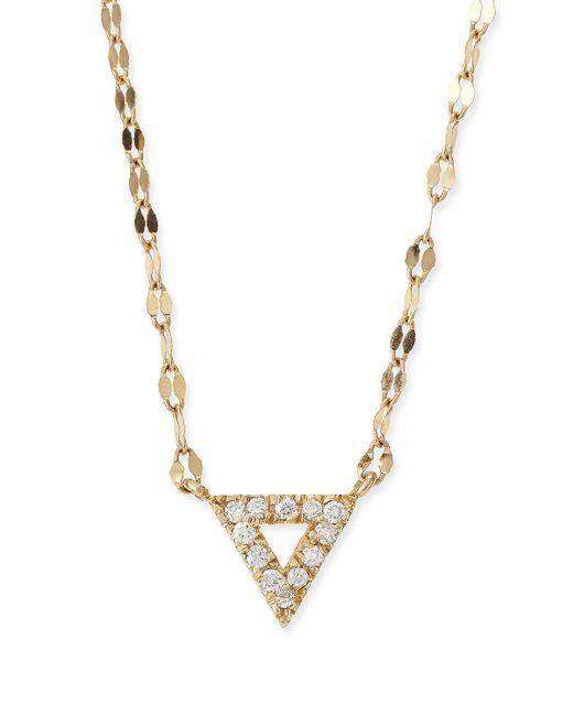 Lana Jewelry | Yellow Diamond Spike Pendant Necklace | Lyst