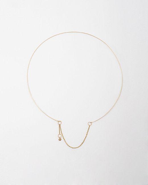 Saskia Diez | Pink Wire Necklace | Lyst