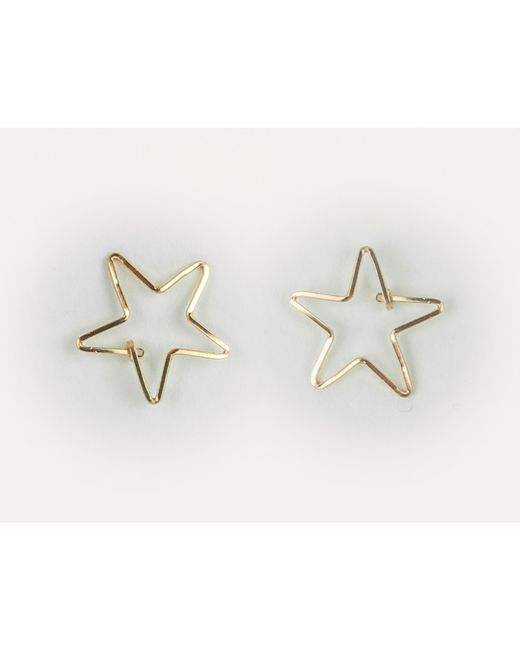 By Philippe | Metallic Gold Star Stud Earrings | Lyst