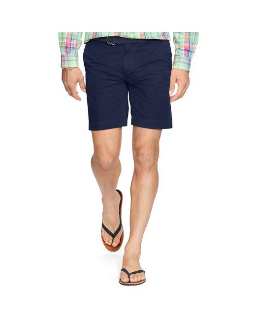Polo Ralph Lauren | Blue Straight-fit Pima Chino Short for Men | Lyst