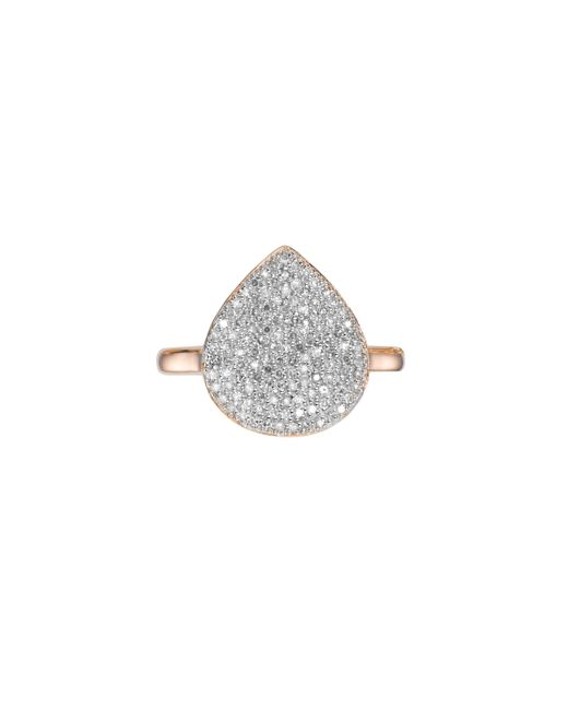 Monica Vinader   Pink Alma Diamond Ring   Lyst