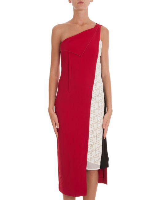 Roland Mouret   Multicolor Nebria Dress   Lyst