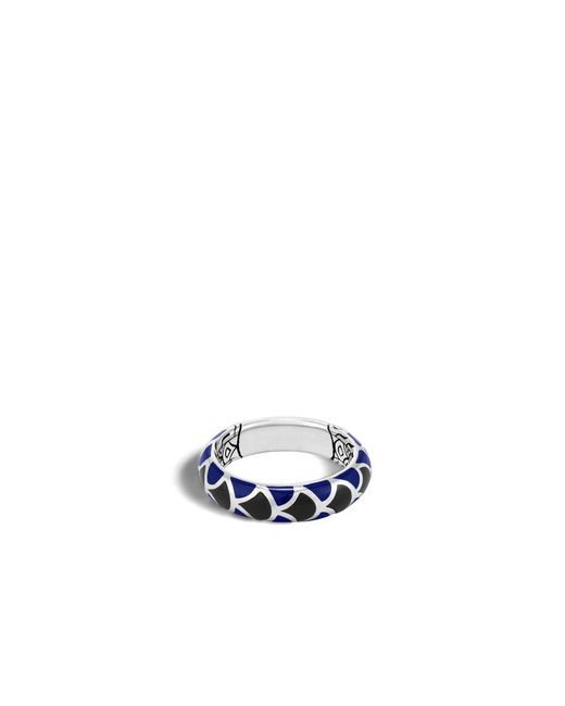 John Hardy | Blue Legends Naga Band Ring | Lyst