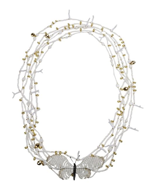 Blumarine | White Necklace | Lyst