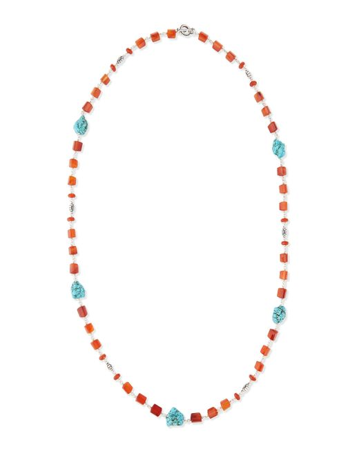 Stephen Dweck | Blue Long Turquoise-station Beaded Necklace | Lyst
