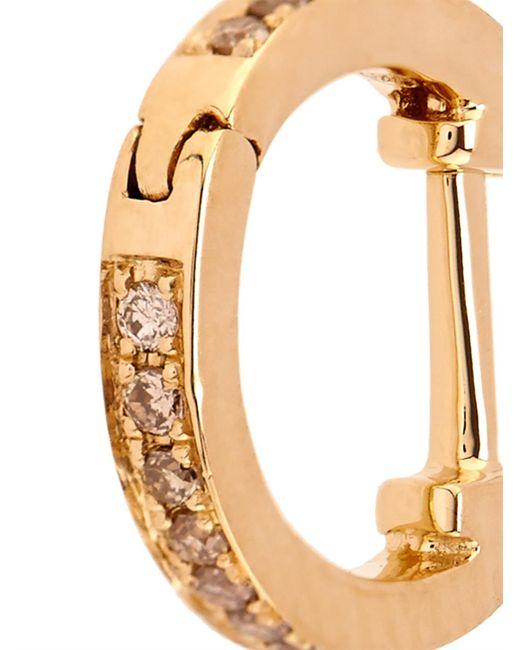 Elise Dray | Metallic Diamond, Agate & Yellow-Gold Olympe Earrings | Lyst